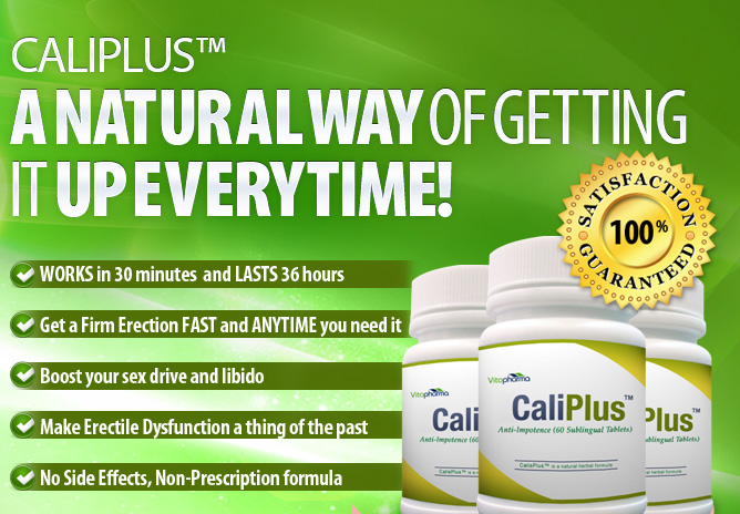 CaliPlus Natural Libido Enhancer Pills For Men